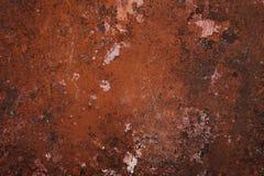 Abstrakt rostmetallbakgrund Arkivbilder