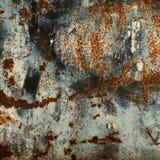 Abstrakt rostyttersidabakgrund Grungy bakgrund med utrymme Arkivfoto