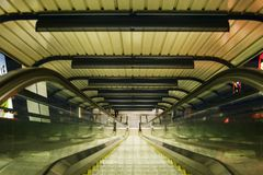 abstrakt rulltrappa Fotografering för Bildbyråer