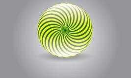 Abstrakt rund sfär Logo Vector Moder Rounded Logo Royaltyfri Foto