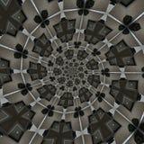 abstrakt runda modeller Royaltyfri Bild