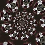 abstrakt runda modeller Arkivbilder