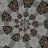 abstrakt runda modeller Arkivfoto