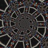 abstrakt runda modeller Royaltyfria Bilder