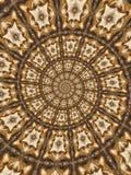 abstrakt runda modeller Royaltyfria Foton