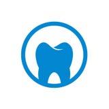 Abstrakt runt tand- symbolsvektormateriel Royaltyfri Fotografi