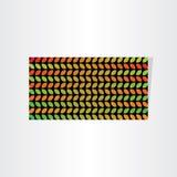 Abstrakt säsongsbetonad design för sidabanerbakgrund Royaltyfri Foto