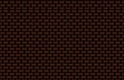 Abstrakt sömlös bakgrund för bokstav D, belagd med tegel textur som avspeglas på yttersida för mörk svart, brun grå röd rödbrun r stock illustrationer
