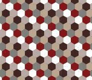 Abstrakt sömlös bakgrund med polyhedrons Arkivfoton