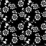 Abstrakt sömlös blommabakgrund Fotografering för Bildbyråer