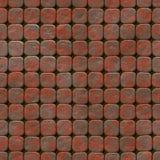 Abstrakt sömlös frambragd hyratextur för trottoar Royaltyfri Fotografi