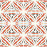 Abstrakt sömlös geometrisk hand-dragen modell vektor illustrationer
