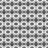 Abstrakt sömlös geometrisk modell vektor illustrationer