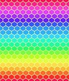 Abstrakt sömlös kubmodell Arkivfoton