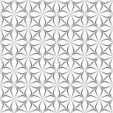 Abstrakt sömlös modell, sömlös modell för vektor Upprepa som är geometriskt seamless blom- modell Royaltyfria Foton