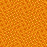 Abstrakt sömlös orange modell Royaltyfri Fotografi