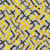 Abstrakt sömlös randig modell också vektor för coreldrawillustration Royaltyfri Fotografi