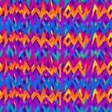 Abstrakt sömlös vektormodell för flickor, pojkar, kläder Tapetserar geometriska diagram för idérik bakgrund för textil och tyg Royaltyfria Foton