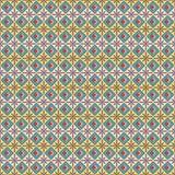 Abstrakt sömlös vektormodell i egyptisk stil Vektor Illustrationer