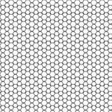 Abstrakt sömlös vit geometrisk prydnadmodell för svart & av illustrationen för staketGraphic Design Background vektor vektor illustrationer