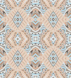 Abstrakt sömlöst geometriskt tryck Arkivfoton