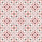 Abstrakt sömlöst geometriskt tryck Royaltyfri Fotografi