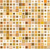 Abstrakt sömlöst, mosaikbakgrund Arkivbilder