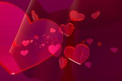 abstrakt s-valentin Royaltyfri Foto