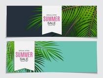 Abstrakt Sale för vektorillustrationsommar bakgrund Fotografering för Bildbyråer