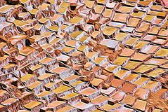 Abstrakt saltdam 06, Digital konst för expressionism av Afonso Farias stock illustrationer
