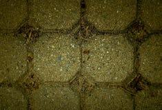 Abstrakt sammansättning av trottoarmodellen Royaltyfri Fotografi
