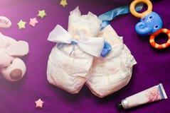 Abstrakt sammansättning för nyfött spädbarn Royaltyfri Foto