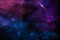 Abstrakt sammansättning på ämnet av kosmos av nebulosa- texturer, ljus och lutningar som tjänar som som bakgrund royaltyfria bilder