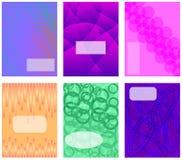 Abstrakt sammansättning Textram Royaltyfria Foton