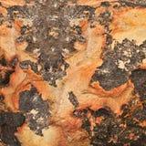 abstrakt sandstenyttersida Arkivbilder