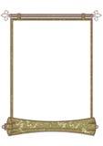 abstrakt scroll Arkivfoton