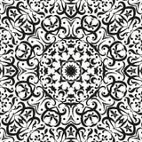 Abstrakt seamless blom- bakgrund Arkivfoto