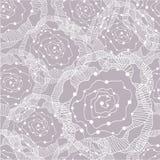 abstrakt seamless blommamodell Arkivbilder