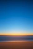Abstrakt seascape för rörelsesuddighet Arkivbild
