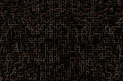 Abstrakt shinning linje konstbakgrund Royaltyfri Foto