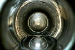 Abstrakt sikt av ett exponeringsglas Royaltyfria Foton