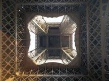 abstrakt sikt för eiffel torn Arkivfoto