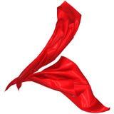 Abstrakt silke i vinden Royaltyfri Fotografi