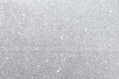 Abstrakt silver blänker texturbakgrund Royaltyfri Bild