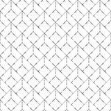 Abstrakt silvrig geometrisk sömlös modell i vit bakgrund stock illustrationer