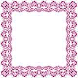 Abstrakt simmetric fyrkantig ram Royaltyfri Foto
