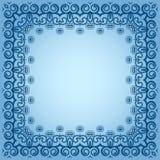 Abstrakt simmetric fyrkantig ram Fotografering för Bildbyråer