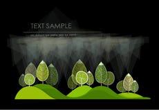 abstrakt skog Royaltyfria Bilder