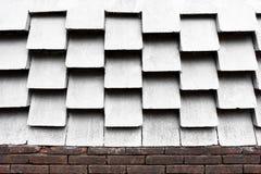 Abstrakt skugga och ljus för designcementvägg Arkivfoto