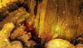 Abstrakt skuggat mångfärgat blänker texturerad bakgrund med belysningeffekter Bakgrund tapet royaltyfri foto